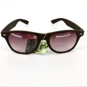 It's All Good Brown Retro Unisex Tint Sunglasses